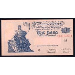 Аргентина 1 песо ND (1948 - 51 г.)  (ARGENTINA 1 peso ND (1948 - 51 g.)) P257:Unc