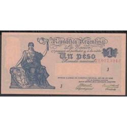 Аргентина 1 песо ND (1935 г.) (ARGENTINA 1 peso ND (1935 g.)) P251(2-2):Unc