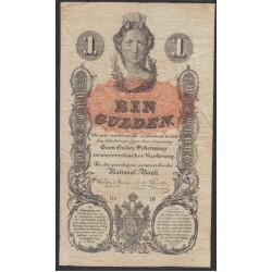 Австрия 1 гульден 1848 года (Austria 1 gulden 1848 year) P A81 : Fine/XF