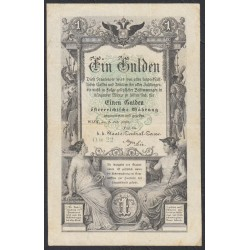 Австрия 1 гульден 1866 года (Austria 1 gulden 1866 year) P A150 : Fine/XF