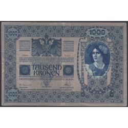 Австрия 1000 крон 1902 года (Austria 1000 kronen 1902 year) P 8 : Fine/XF
