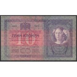 Австрия 10 крон 1904 года (Austria 10 kronen 1904 year) P 9 : Fine/XF