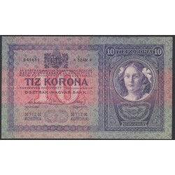 Австрия 10 крон 1904 года (Austria 10 kronen 1904 year) P 9 : XF