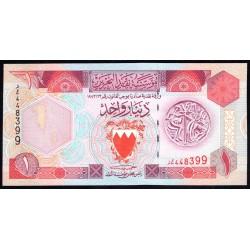 Бахрейн 1 динар L. 1973 г. (BAHRAIN 1 Dinar L.1973 g.) P13:Unc