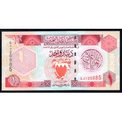 Бахрейн 1 динар L. 1973 г. (BAHRAIN 1 Dinar L.1973 g.) P19b:Unc