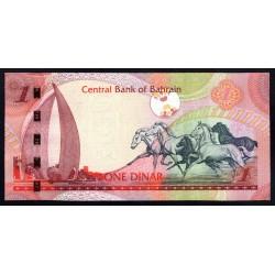 Бахрейн 1 динар L. 2006 г. (BAHRAIN 1 Dinar L. 2006 g.) P26:Unc