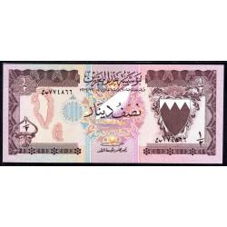 Бахрейн 1/2 динара L.1973 г. (BAHRAIN ½ Dinar L.1973 g.) P7:Unc