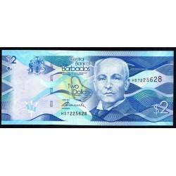 Барбадос 2 доллара 2013 г. (BARBADOS 2 Dollars 2013) P73а:Unc