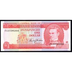 Барбадос 1 доллар ND (1973 г.) (BARBADOS 1 Dollar ND (1973)) P29:Unc