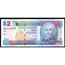 Барбадос 2 доллара 2007 г. (BARBADOS 2 Dollars 2007) P66а:Unc