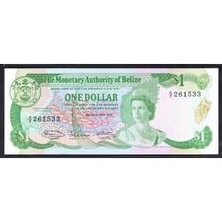 Белиз 1 доллар 1980 г. (BELIZE 1 dollar 1980 g.) P38а:Unc