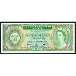 Белиз 1 доллар 1976 г. (BELIZE 1 dollar 1976 g.) P33c:Unc