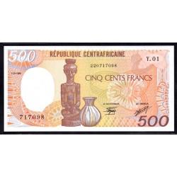 Центральная Африканская Республика 500 франков 1985 г. (Central African Republic 500 francs 1985 g.) P14a:Unc