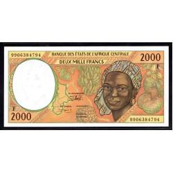 Центральная Африканская Республика 2000 франков ND (1993 - 99 г.) (Central African Republic 2000 francs ND (1993 - 99 g.)) P303Fc:Unc