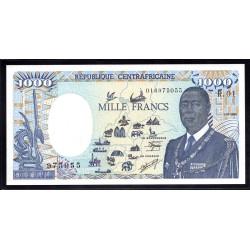 Центральная Африканская Республика 1000 франков 1985 г. (Central African Republic 1000 francs 1985 g.) P15:Unc