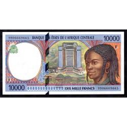 Центральная Африканская Республика 10000 франков ND (1994 - 99 г.) (Central African Republic 10000 francs ND (1994 - 99 g.)) P305Fс:Unc