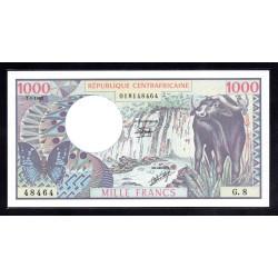 Центральная Африканская Республика 1000 франков 1980 г. (Central African Republic 1000 francs 1980 g.) P10:Unc