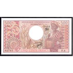 Центральная Африканская Республика 500 франков 1981 г. (Central African Republic 500 francs 1981 g.) P9:Unc