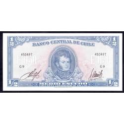 Чили 1/2 эскудо ND (CHILE ½ Escudo (50 Centésimos) ND) P134А:Unc