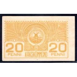 Эстония 20 пенни ND (1919 г.) (ESTONIA 20 penni ND (1919 g.)) P41:Unc