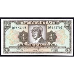 Гаити 1 гурд L.1919 г. (HAITI 1 Gourde L.1919 g.) P196:Unc
