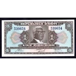 Гаити 1 гурд L.1973 г. (HAITI 1 Gourde L.1973 g.) P210:Unc