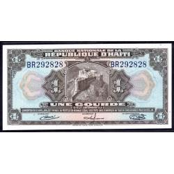Гаити 1 гурд 1919 г. (HAITI 1 Gourde 1919 g.) P185:Unc