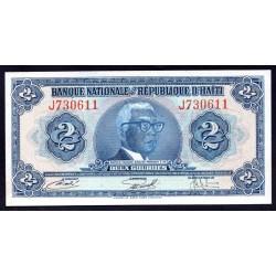 Гаити 2 гурда L.1919 г. (HAITI 2 Gourdes L.1919 g.) P201:Unc