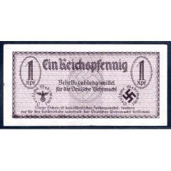 Вермахт 1 Рейхпфеннинг 1940/42 год, РЕДКОСТЬ (Wehrmacht 1 Reichspfennig 1940/42 year, RAR) P-M31: aUNC