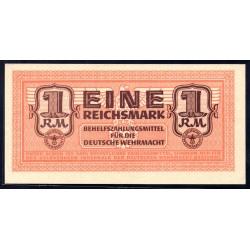 Вермахт  1 Рейхсмарка 1942/44 год (Wehrmacht 1 Reichsmark 1942/44 year) P-M36: UNC