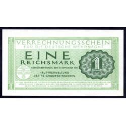 Вермахт 1 Рейхсмарка 1944/45 год (Wehrmacht 1 Reichsmark 1942/44 year) P-M38: UNC