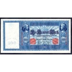 Германия 100 марок 1910 год (Germany 100 Mark 1910 year) P 42: UNC