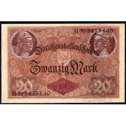 Германия 20 марок 1914 год (Germany 20 Mark 1914 year) P 48b: UNC