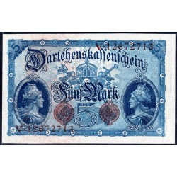 Германия 5 марок 1914 год (Germany 5 Mark 1914 year) P 47b: UNC