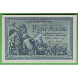 Германия 5 марок 1904 год (Germany 5 Mark 1904 year) P 8а: UNC