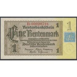 Германия 1 марка 1948 год, зона Советских войск (Germany 1 Mark 1948 year, Soviet Occupation) P 1: UNC