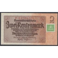 Германия 2 марки 1948 год, зона Советских войск (Germany 2 Mark 1948 year, Soviet Occupation) P 2: UNC