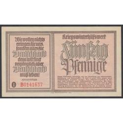 Германия, зимняя помощь 50 пфеннингов 1939 год, первый выпуск (Germany Kriegswinterhilfswerk 50 pfennig 1939 year) :UNC