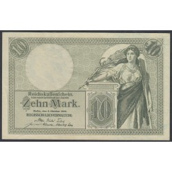 Германия 10 марок 1906 год (Germany 10 Mark 1906 year) P 9b: UNC