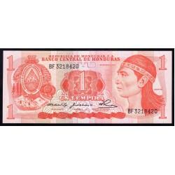 Гондурас 1 лемпира 1980 г. (HONDURAS 1 Lempira 1980) P68а:Unc