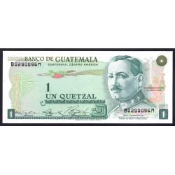 Гватемала 1 кетсаль 1978 г. (GUATEMALA 1 Quetzal 1978 g.) P59с:Unc