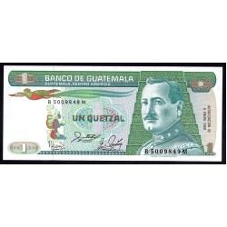 Гватемала 1 кетсаль 1988 г. (GUATEMALA 1 Quetzal 1988 g.) P66:Unc
