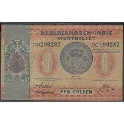Индонезия (колония Нидерландов) 1 гулден 1940 г. (Indonesia (Netherlands colony) 1 gulden 1940 year) P108a:UNC