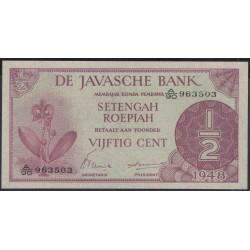 Индонезия (война за независимость) 1/2 гульден 1948 г. (Indonesia (independence war) 1/2 gulden 1948 year) P97:UNC