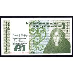Ирландия 1 фунт 1982 г. (IRELAND 1 Pound 1982) P70с:Unc