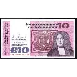 Ирландия 10 фунтов 1988 г. (IRELAND 10 Pounds 1988) P72с:Unc