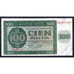 Испания 100 песет 1936 г. (SPAIN 100 pesetas 1936) P101:Unc