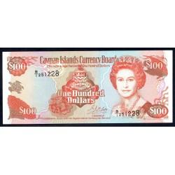 Каймановы Острова 100 долларов 1996 г. (CAYMAN ISLANDS 100 Dollars 1996) P20:Unc