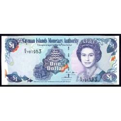 Каймановы Острова 1 доллар 2006 г. (CAYMAN ISLANDS 1 Dollar 2006) P33а:Unc