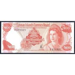 Каймановы Острова 100 долларов 1974 г. (CAYMAN ISLANDS 100 Dollars L. 1974) P11:Unc